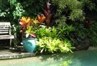 Belgrave South Bali style landscaping 11