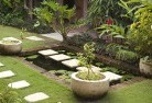 Belgrave South Bali style landscaping 13
